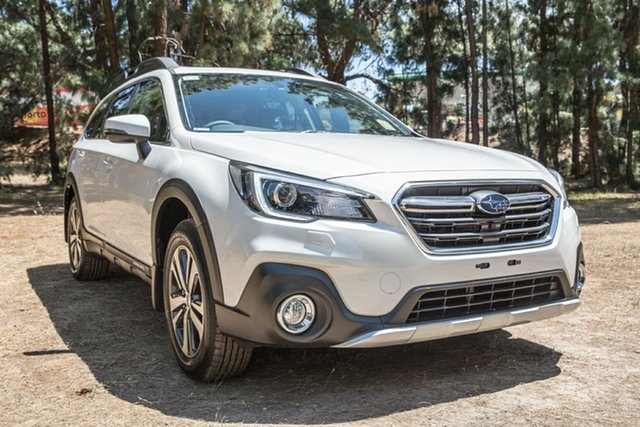New Subaru Outback B6A MY19 2.5i CVT AWD Premium, 2019 Subaru Outback B6A MY19 2.5i CVT AWD Premium Crystal White Pearl 7 Speed Constant Variable