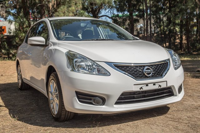 Used Nissan Pulsar C12 Series 2 ST, 2016 Nissan Pulsar C12 Series 2 ST White 1 Speed Constant Variable Hatchback