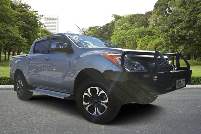Used Mazda BT-50 UP0YF1 XTR, 2012 Mazda BT-50 UP0YF1 XTR Silver 6 Speed Sports Automatic Utility