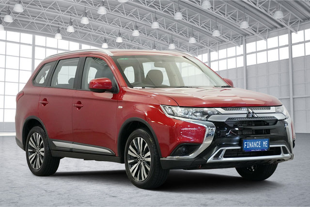 Used Mitsubishi Outlander ZL MY19 ES AWD, 2019 Mitsubishi Outlander ZL MY19 ES AWD Red 6 Speed Constant Variable Wagon