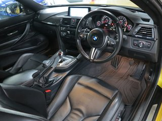 2014 BMW M4 F82 M-DCT Austin Yellow 7 Speed Sports Automatic Dual Clutch Coupe