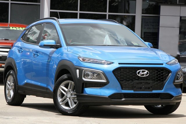 New Hyundai Kona OS.3 MY20 Active D-CT AWD, 2020 Hyundai Kona OS.3 MY20 Active D-CT AWD Blue Lagoon 7 Speed Sports Automatic Dual Clutch Wagon