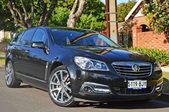 Used Holden Calais VF II MY16 V Sportwagon, 2016 Holden Calais VF II MY16 V Sportwagon Black 6 Speed Sports Automatic Wagon