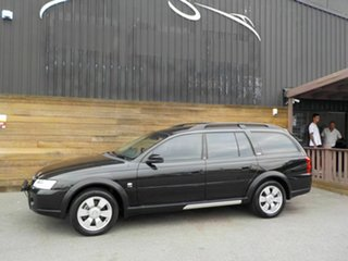 2004 Holden Adventra VZ (VY II) CX8 Black 4 Speed Automatic Wagon