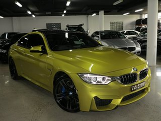 2014 BMW M4 F82 M-DCT Austin Yellow 7 Speed Sports Automatic Dual Clutch Coupe.