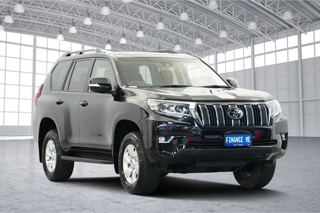 Used Toyota Landcruiser Prado GDJ150R GXL, 2018 Toyota Landcruiser Prado GDJ150R GXL Eclipse Black 6 Speed Sports Automatic Wagon