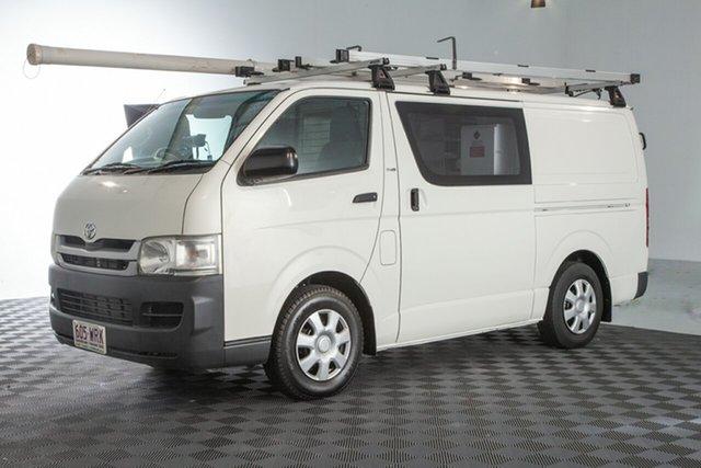 Used Toyota HiAce KDH201R MY08 LWB, 2009 Toyota HiAce KDH201R MY08 LWB White 5 Speed Manual Van