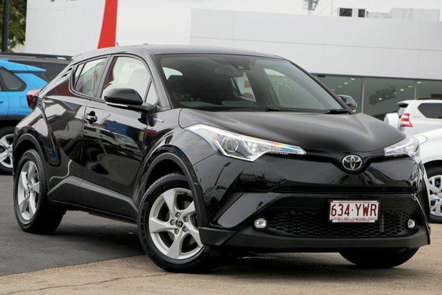 Used Toyota C-HR NGX10R S-CVT 2WD, 2018 Toyota C-HR NGX10R S-CVT 2WD Black/Grey 7 Speed Constant Variable Wagon