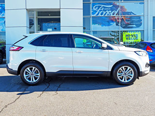2018 Ford Endura CA 2019MY Trend SelectShift FWD White Platinum 8 Speed Sports Automatic Wagon