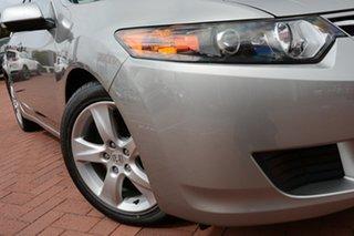 2009 Honda Accord Euro CU MY10 Billet Silver 5 Speed Automatic Sedan.