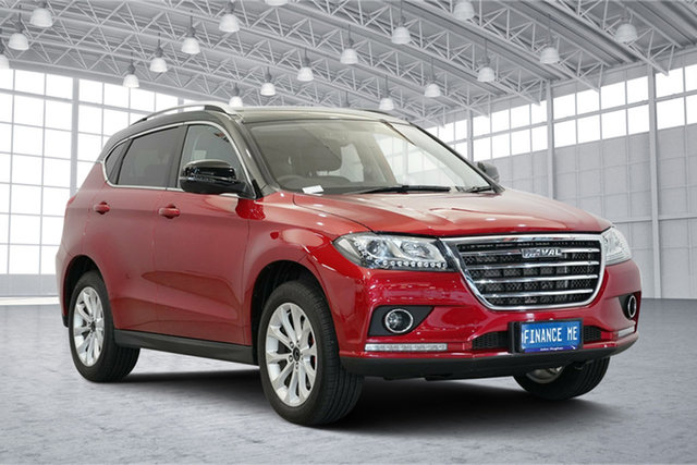 Used Haval H2  Lux 2WD, 2019 Haval H2 Lux 2WD Red 6 Speed Sports Automatic Wagon