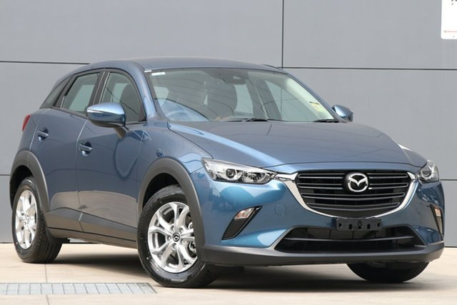 New Mazda CX-3 DK2W76 Maxx SKYACTIV-MT FWD Sport, 2019 Mazda CX-3 DK2W76 Maxx SKYACTIV-MT FWD Sport Eternal Blue 6 Speed Manual Wagon