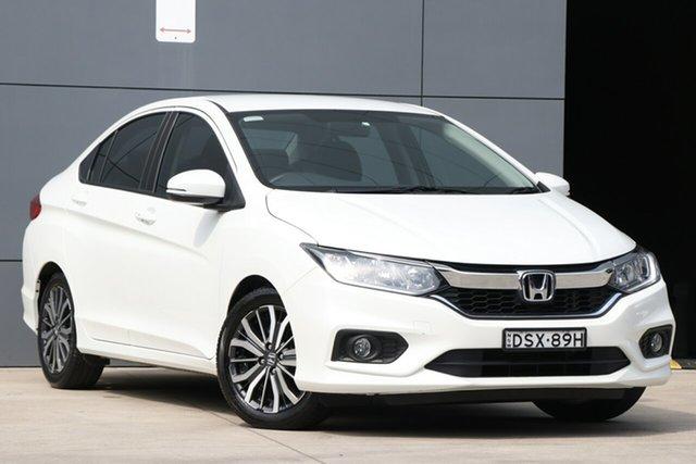 Used Honda City GM MY18 VTi-L, 2017 Honda City GM MY18 VTi-L White 7 Speed Constant Variable Sedan