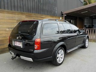 2004 Holden Adventra VZ (VY II) CX8 Black 4 Speed Automatic Wagon.