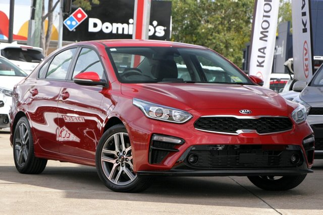 Used Kia Cerato BD MY20 Sport+, 2019 Kia Cerato BD MY20 Sport+ Runway Red 6 Speed Sports Automatic Sedan