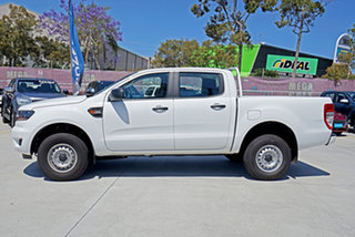 2019 Ford Ranger PX MkIII 2019.00MY XL Pick-up Double Cab White 6 Speed Sports Automatic Utility