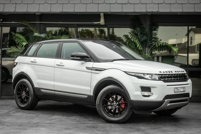 Used Land Rover Range Rover Evoque L538 MY12 SD4 CommandShift Pure, 2012 Land Rover Range Rover Evoque L538 MY12 SD4 CommandShift Pure White 6 Speed Sports Automatic