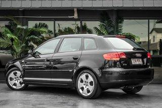 2007 Audi A3 8P Ambition Sportback S Tronic Black 6 Speed Sports Automatic Dual Clutch Hatchback.