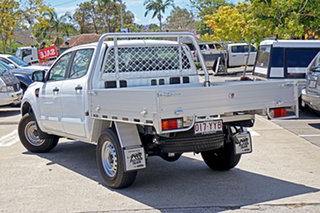 2018 Ford Ranger PX MkIII 2019.00MY XL Double Cab White 6 Speed Sports Automatic Cab Chassis.