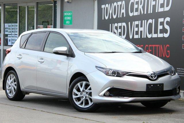 Used Toyota Corolla ZRE182R Ascent Sport S-CVT, 2017 Toyota Corolla ZRE182R Ascent Sport S-CVT Silver Pearl 7 Speed Constant Variable Hatchback