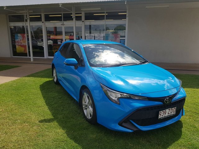 Demo Toyota Corolla Mzea12R Ascent Sport, 2018 Toyota Corolla Mzea12R Ascent Sport Eclectic Blue Continuous Variable Hatchback