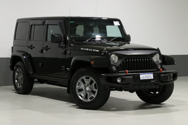 Used Jeep Wrangler Unlimited JK MY16 Rubicon (4x4), 2016 Jeep Wrangler Unlimited JK MY16 Rubicon (4x4) Black 5 Speed Automatic Softtop