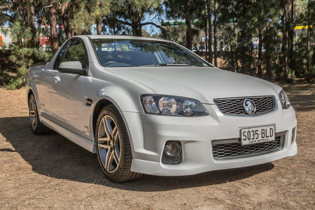 Used Holden Ute VE II SV6 Thunder, 2012 Holden Ute VE II SV6 Thunder White 6 Speed Sports Automatic Utility