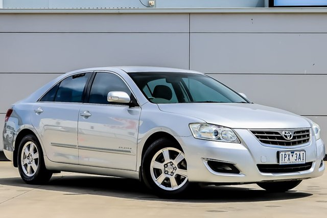 Used Toyota Aurion GSV40R AT-X, 2007 Toyota Aurion GSV40R AT-X Silver 6 Speed Sports Automatic Sedan