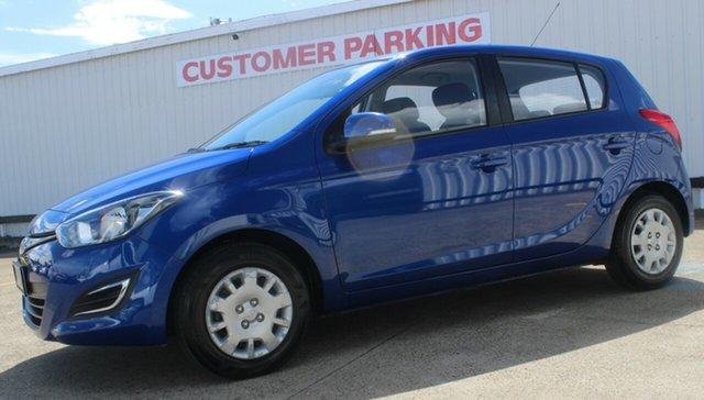 Used Hyundai i20 PB MY15 Active, 2014 Hyundai i20 PB MY15 Active Blue 4 Speed Automatic Hatchback
