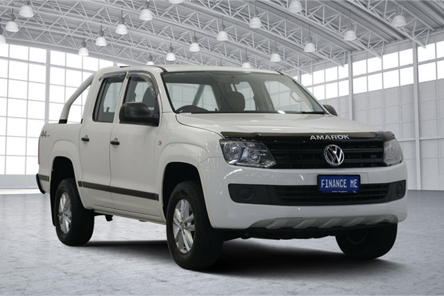 Used Volkswagen Amarok 2H MY17 TDI420 4MOTION Perm Core, 2017 Volkswagen Amarok 2H MY17 TDI420 4MOTION Perm Core White 8 Speed Automatic Utility