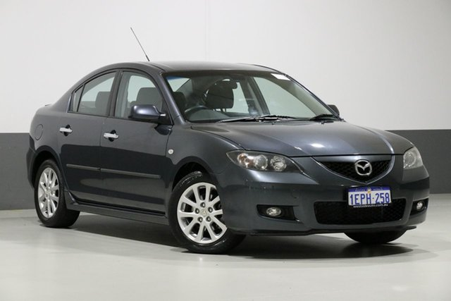 Used Mazda 3 BK MY08 Maxx Sport, 2009 Mazda 3 BK MY08 Maxx Sport Grey 5 Speed Manual Sedan