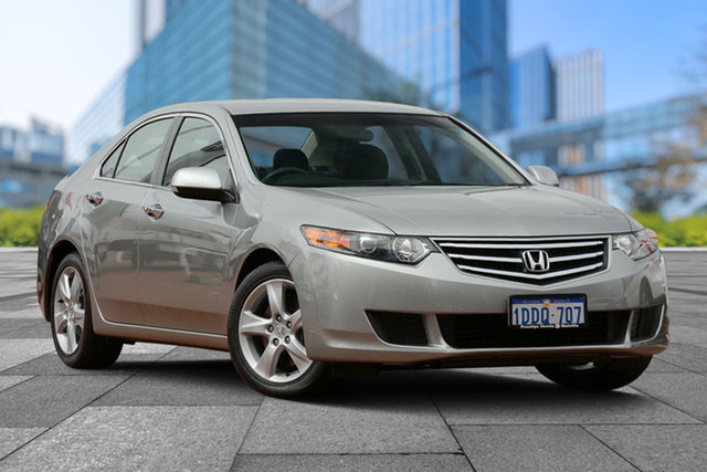 Used Honda Accord Euro CU MY10 , 2009 Honda Accord Euro CU MY10 Billet Silver 5 Speed Automatic Sedan