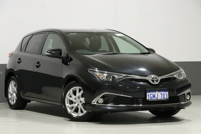 Used Toyota Corolla ZRE182R MY17 Ascent Sport, 2018 Toyota Corolla ZRE182R MY17 Ascent Sport Black 7 Speed CVT Auto Sequential Hatchback