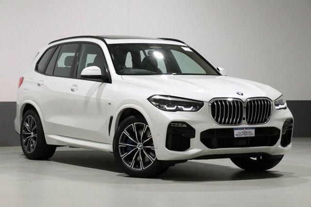 Used BMW X5 G05 MY19 xDrive 30d M Sport (5 Seat), 2019 BMW X5 G05 MY19 xDrive 30d M Sport (5 Seat) Pearl White 8 Speed Auto Dual Clutch Wagon