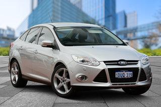 2012 Ford Focus LW Titanium PwrShift Billet Silver 6 Speed Sports Automatic Dual Clutch Sedan.