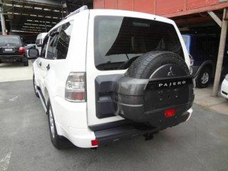 2010 Mitsubishi Pajero NT MY10 GLX LWB (4x4) White 5 Speed Auto Sports Mode Wagon