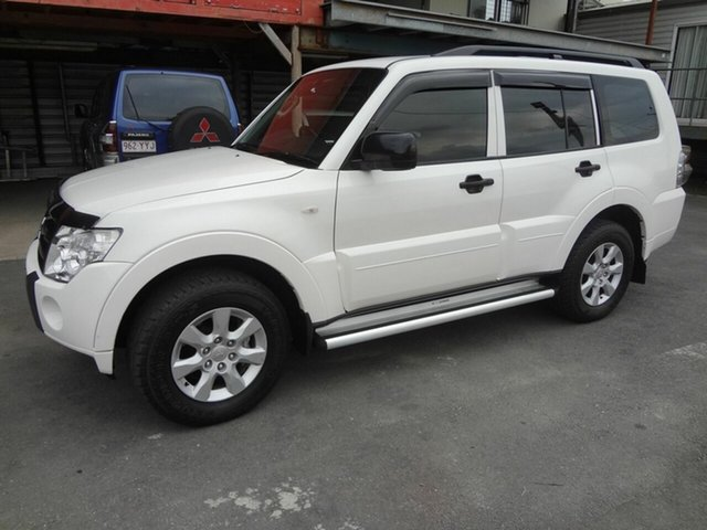 Used Mitsubishi Pajero NT MY10 GLX LWB (4x4), 2010 Mitsubishi Pajero NT MY10 GLX LWB (4x4) White 5 Speed Auto Sports Mode Wagon