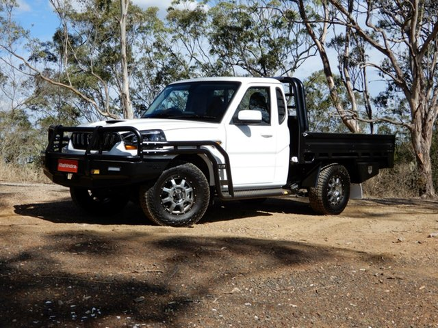 New Mahindra Pik-Up S10 MY18 4WD, 2019 Mahindra Pik-Up S10 MY18 4WD White 6 Speed Manual Cab Chassis