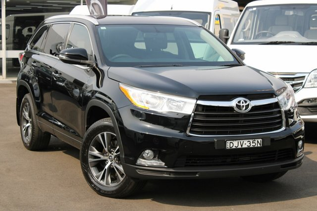 Used Toyota Kluger GSU50R GXL 2WD, 2016 Toyota Kluger GSU50R GXL 2WD Black 6 Speed Sports Automatic Wagon
