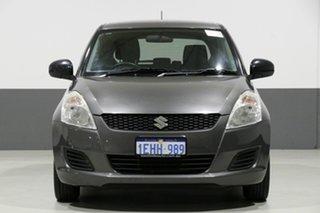 2013 Suzuki Swift FZ MY13 GA Grey 5 Speed Manual Hatchback.