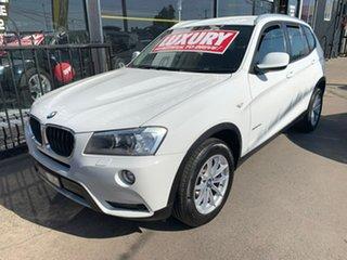 2011 BMW X3 F25 MY1011 xDrive20d Steptronic White 8 Speed Automatic Wagon.