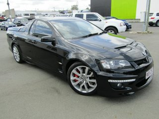 2011 Holden Special Vehicles Maloo V3 MY12 R8 Black 6 Speed Automatic Utility.