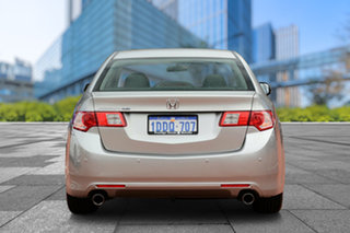 2009 Honda Accord Euro CU MY10 Billet Silver 5 Speed Automatic Sedan