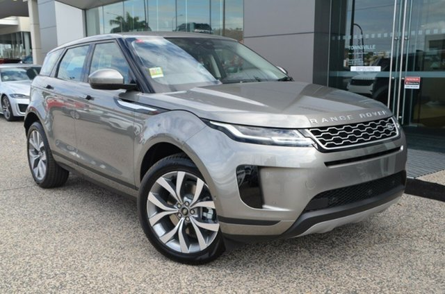 New Land Rover Range Rover Evoque L551 MY20 D150 SE, 2019 Land Rover Range Rover Evoque L551 MY20 D150 SE Silicon Silver 9 Speed Sports Automatic Wagon