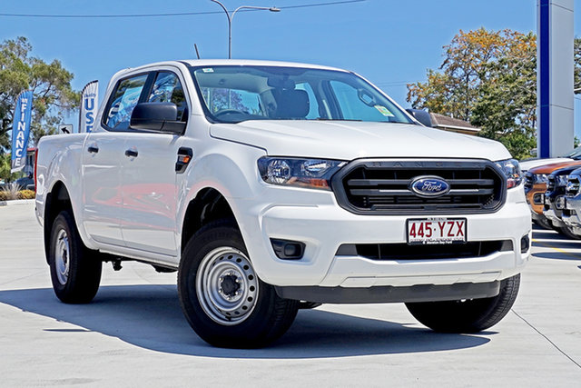 Used Ford Ranger PX MkIII 2019.00MY XL Pick-up Double Cab, 2019 Ford Ranger PX MkIII 2019.00MY XL Pick-up Double Cab White 6 Speed Sports Automatic Utility