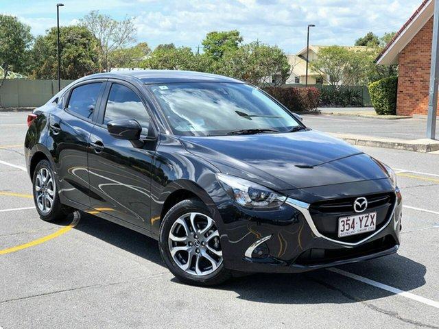 Used Mazda 2 DL2SA6 GT SKYACTIV-MT, 2017 Mazda 2 DL2SA6 GT SKYACTIV-MT Black 6 Speed Manual Sedan