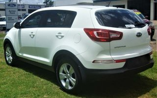 2011 Kia Sportage SL SI Clear White 6 Speed Sports Automatic Wagon