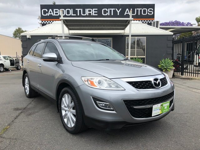 Used Mazda CX-9 10 Upgrade Luxury, 2010 Mazda CX-9 10 Upgrade Luxury Silver 6 Speed Auto Activematic Wagon