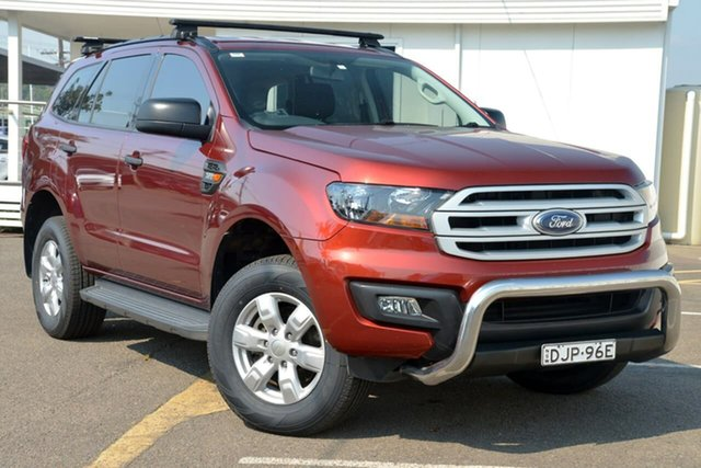 Used Ford Everest UA Ambiente 4WD, 2016 Ford Everest UA Ambiente 4WD Red 6 Speed Sports Automatic Wagon
