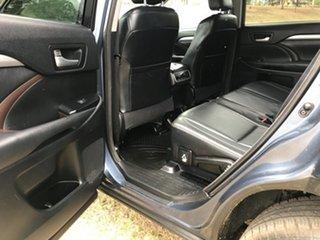 2014 Toyota Kluger GSU55R GXL (4x4) Cosmos Blue 6 Speed Automatic Wagon